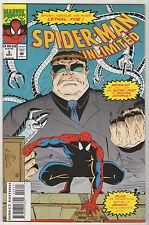 Spider-Man Unlimited VF LOT (6) marvel 1993-98 Doctor Octopus Puma Lizard Annex