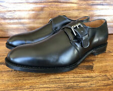 """Unworn Men's Allen Edmonds """"Warwick"""" Monk Strap Dress Shoes Size 9 3E Wide"""