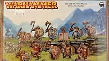Warhammer Age of Sigmar DISPOSSESSED IRONBREAKERS, Dwarf Iron Breaker Regiment