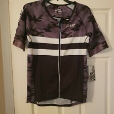 Nwt Men's Zoot Sleeved Carbon Camo Tri Ss Aero Jersey - Xlarge