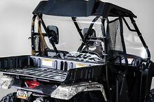 "Honda Pioneer 500 Back UTV Windshield 3/16"" - Models 2016 & older"