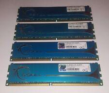 G.SKILL PIatinum 8GB 4X2GB PC2 8500U 1066MHz Quad DDR2 F2-8500CL5D-4GBPK - NICE