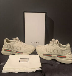 Men's GUCCI Rhyton Sneakers (Size 8.5) COMES WITH BOX & DUST BAG