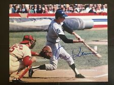 AL KALINE AUTOGRAPHED AUTO SIGNED 8X10 PHOTO DETROIT TIGERS HALL OF FAME HOF