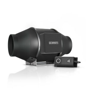 """CLOUDLINE S4, Inline Booster Duct Fan 4"""" Cooling Ventilation Exhaust Grow Tents"""