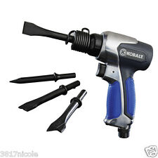 Kobalt Heavy Duty Air Pneumatic Chisel Hammer Gun with 4 Chisels Tool Set