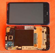 Original HTC DESIRE HD LCD Pantalla-carcasa-cámara-altavoz- fácil de cambiar