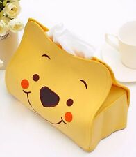 1Pc Lovely Cartoon Winnie the Pooh Car Seat Style Tissue Box Car Accessories