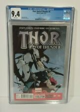Thor God of Thunder 5 CGC 9.4 Gore appearance. Love and Thunder 2013