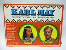 Karl May  - Echte Fotos - Klebebilder Album Americana