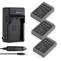 Battery + Charger for Olympus BLS-5 PS-BLS5 OM-D E-M10 PEN E-PL2 E-PM2 Stylus 1