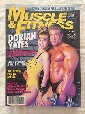 Muscle & Fitness n.33 1994 Rivista di CULTURISMO - Dorian Yates