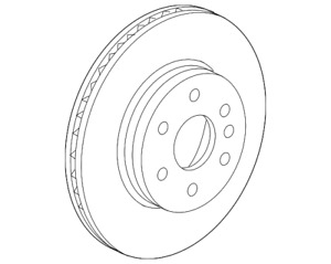 OEM NEW 2015-20 GM Chevrolet GMC Colorado Canyon Front Brake Disc Rotor 4775725