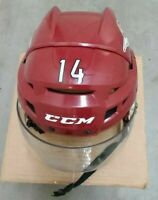 (AHL TUCSON ROADRUNNERS) Craig Cunningham game-worn 2016-17 helmet retired #14