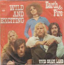 "Earth & Fire Wild And Exiting / Vivid Shady Land 1970 CBS 7"" Single"
