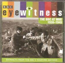 EYEWITNESS: The BBC At War 1938-1945 CD