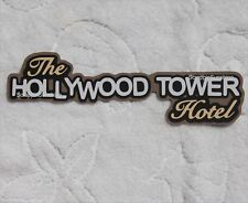DISNEY HOLLYWOOD TOWER HOTEL Die Cut Title Tower of Terror Scrapbook Paper Piece