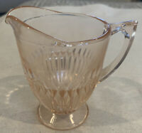 Pink Depression Glass Creamer,  Vintage