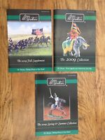 3 x W Britain 2009 A4 colour catalogues Main, Spring, Summer & Fall 80 + pages