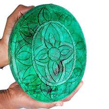 29310 Cts ~5 Kilo+ ~Certified Natural Emerald Moghul Carved Huge Museum Gemstone