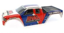 BODY RED WHITE & BLUE Extended Monster Truck GT MGT - Associated 1/8 Rival MT