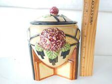 Unique Vintage Covered Jar Bowl