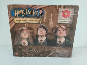 Harry Potter And The Sorcerer's Stone 100 Piece Puzzle NIB 2001