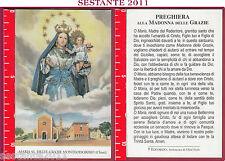 3427 SANTINO HOLY CARD MADONNA MARIA SS. DELLE GRAZIE MONTEDORISIO CHIETI