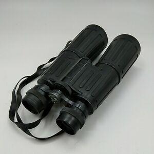 Esde-Optik Vintage Binoculars Qualitat 7 X 50 Blickfeld 7.1° Nr. 4012 Black