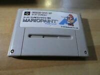 GAME/JEU SUPER FAMICOM NINTENDO NES JAPANESE Mario Paint SHVC MP Japan SNES SFC