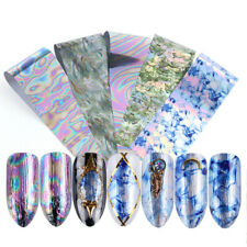 Marble Nail Polish Tips Nail Stickers Decals Starry Transfer Paper Nail Foils