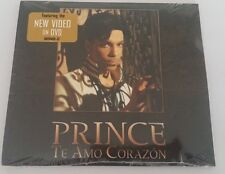 "PRINCE ""TE AMO CORAZON"" 1TRACK CD & DVD single NEW/SEALED"
