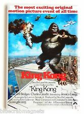 King Kong (1976) FRIDGE MAGNET (2 x 3 inches) movie poster