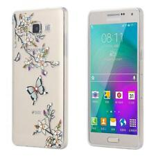 Samsung Galaxy A5 A500FU SLIM TPU CASE STRASS GLITTER CUSTODIA  BRILLARE COVER