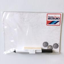 New - Suzuki Genuine Accessory - Team Classic Fridge/Tool Box Whiteboard - SUZ2W