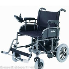 "Merits P101 Folding Power Chair, Electric Wheelchair, 18"" Wide Seat"