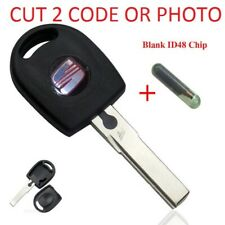SEAT Cordoba Ibiza Inca Leon  HU66 REMOTE KEY BLANK CUT TO CODE OR PHOTO + CHIP