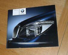 BMW 7 Series Price & Specification Brochure 2005 730I 730D 740I 750I 760I Sport