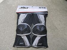 NEW STX Impact Jolt Arm Guards Adult Large Black Protective Gear Padding LAX