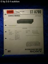 Sony Service Manual ST A790 Tuner  (#1398)