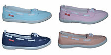 Calzado de mujer TAG color principal azul de lona
