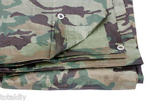 TARPAULIN GROUND CAMOFLAGE SHEET 4FT X 6FT 1.2M X 1.8M CAMO T00
