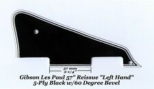 Les Paul 57' RI LEFT 5-ply Black BWBWB Pickguard  made for Gibson Project 60 Deg