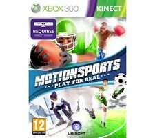 Xbox 360 Kinect Motionsports Play for Real Gesundheit SPIELE GRATIS UK VERSAND
