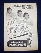 A099-Advertising Pubblicità-1959-PLASMON