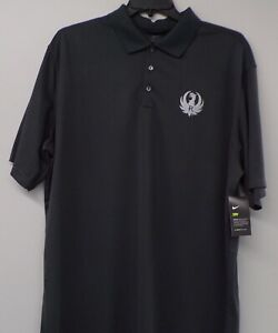 Ruger Firearms Logo Nike Dri-Fit Mens Embroidered Polo XS-4XL, LT-4XLT New