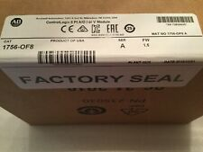 Allen Bradley 1756-OF8 ControlLogix 8 Pt A/O or V Module 'A' Sealed OCT2019 NEW