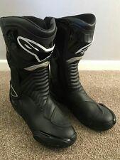 Alpinestars SMX 6 Motorcycle  bike Waterproof Boots Black EUR size 44