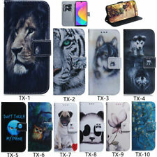 Flip Patterned PU Leather Card Slot Wallet Stand Case Soft Cover Lot Bumper TX1