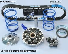 241.672.1 POLINI SET HI-SPEED PIAGGIO FERMETURE ÉCLAIR 50 SP H2O